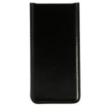 iPhone 5 / 5S / SE : Etui noir à ouverture verticale - accessoire