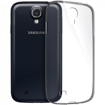 Galaxy S4 GT I9500 et S4 4G GT-i9505 : Coque souple transparente de protection