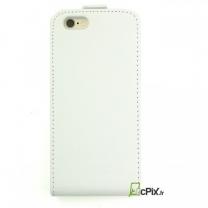 iPhone 6 Plus et 6S Plus : Etui rabat blanc
