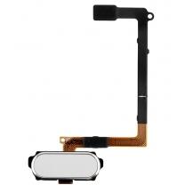 Samsung Galaxy S6 SM-G920F : Bouton et Nappe Home Blanc