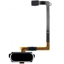 Samsung Galaxy S6 SM-G920F : Bouton et Nappe Home Noir
