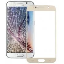 Galaxy S6 SM-G920F : Vitre Or de remplacement