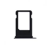 iPhone 7 : Tiroir carte nano sim Noir de jais