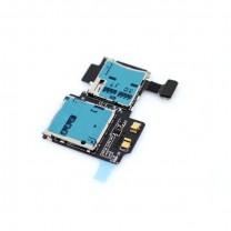 Samsung Galaxy S4 et S4 4G : Lecteur sim et SD - pièce détachée