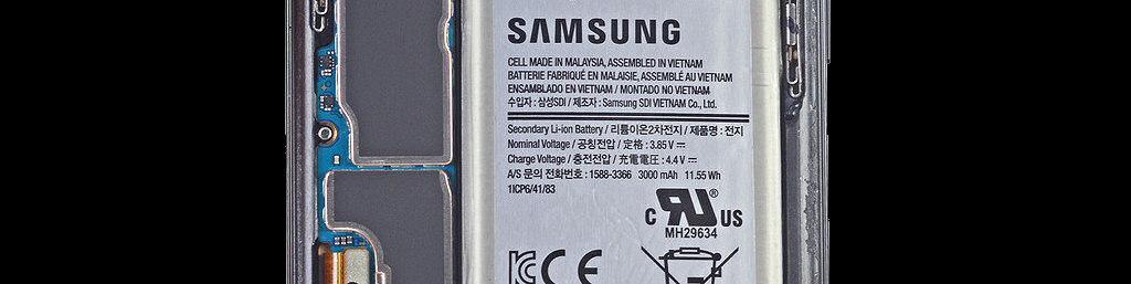 Batterie pour Galaxy S9 ou S9+ (Ref. EB-BG960ABE, GH82-15963A)