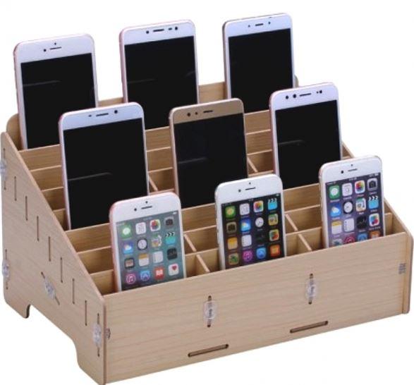 casier rangement telephone portables