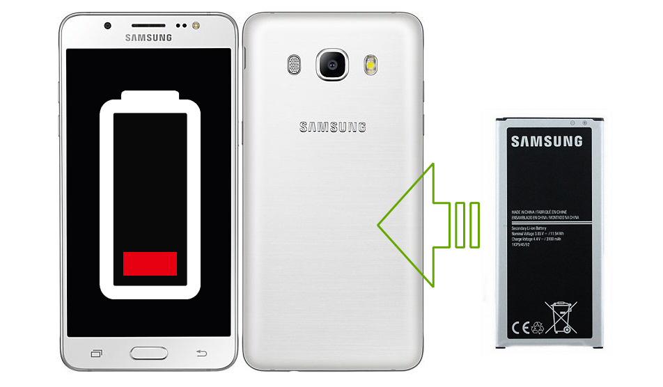 Remplacement de la batterie Galaxy J5 2016