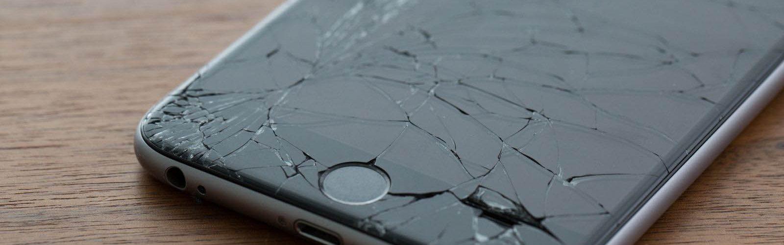 Ecran iPhone 6 cassé