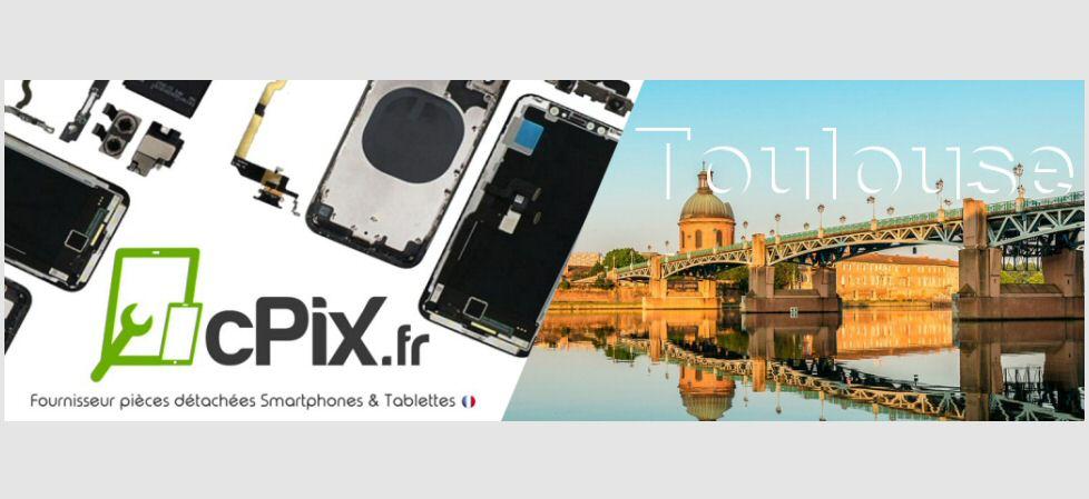 Toulouse : cPix, Magasin de pièces détachées pour réparer Smartphones & Tablettes.