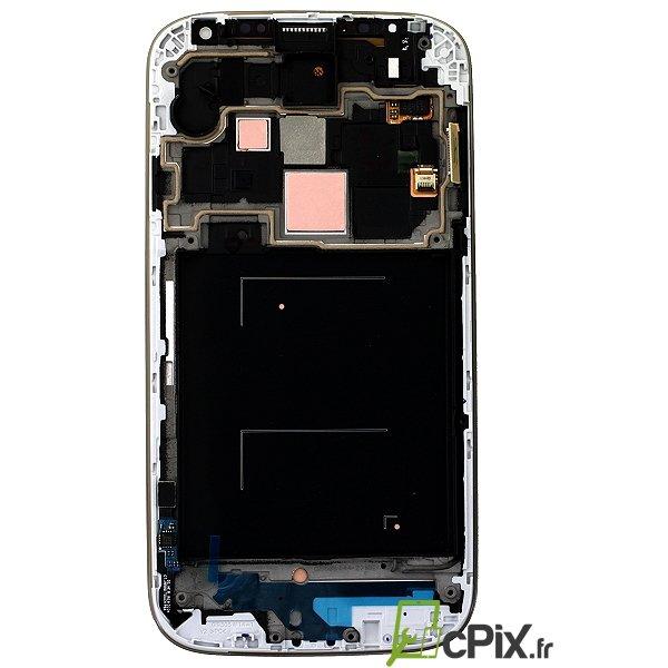 écran rechange Samsung Galaxy S4 blanc