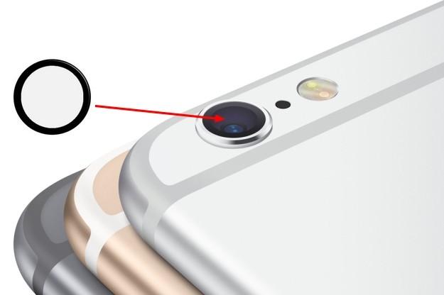 Lentille verre caméra appareil photo arrière iPhone 6