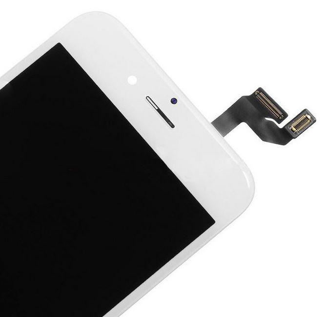 Vitre tactile BLANC 3D Touch avec écran LCD RETINA montés sur chassis pour IPHONE 6S