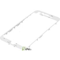 iPhone 7 : Châssis vitre écran Blanc (Bezel frame)