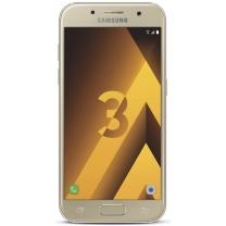 Galaxy A3 (2017) SM-A320F : Vitre Ecran complet Or - Officiel Samsung