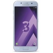 Galaxy A3 (2017) SM-A320F : Vitre Ecran complet Bleu - Officiel Samsung
