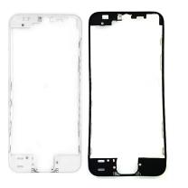 Monture avant et contour écran IPhone 5S noir et blanc