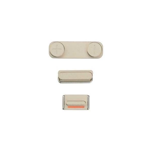 lot 3 boutons iphone 5s et se volume power mute pi ce. Black Bedroom Furniture Sets. Home Design Ideas