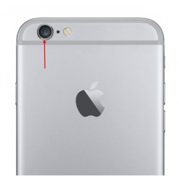 lentille cam ra arri re pour iphone 6 avec bague qualit premium. Black Bedroom Furniture Sets. Home Design Ideas