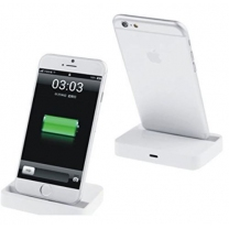 iPhone : Station d'accueil dock de charge Lightning Blanc