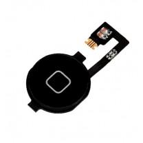 iPhone 4 : Bouton noir et nappe home - pièce détachée