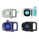 Galaxy S7 et S7 Edge : Support métal pour lentille appareil photo arrière Argent