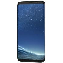 Vue de face de l'écran avec son châssis noir Samsung Galaxy S8 SM-G950F