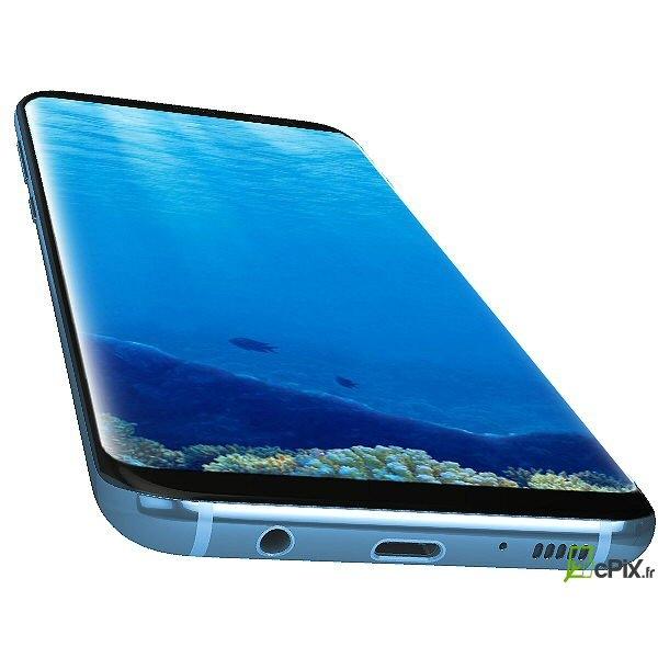 vitre cran bleu corail galaxy s8 sm g950f officiel samsung gh97 20457d. Black Bedroom Furniture Sets. Home Design Ideas