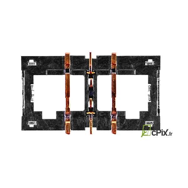 iPhone 6 Plus, 7, 7 Plus : connecteur de batterie à souder sur carte mère - pièce détachée