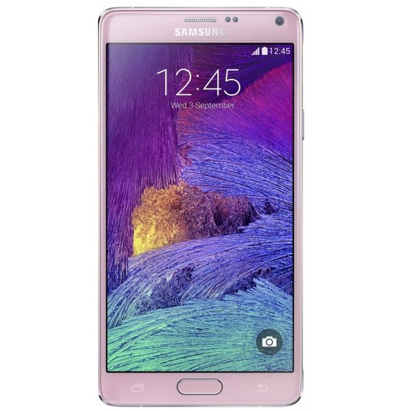 Vitre cran rose galaxy note 4 n910f r paration pi ce for Photo ecran note 4