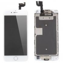 iPhone 6S : Complet Ecran Blanc (LCD + vitre tactile + Caméra avant + Ecouteur + Nappe + Bouton Home assemblés)