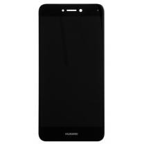 Huawei P8 Lite 2017 : Ecran Noir LCD + vitre tactile assemblés
