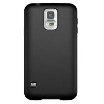 "Etui gel noir design ""S"" Samsung Galaxy S5 SM-G900F"