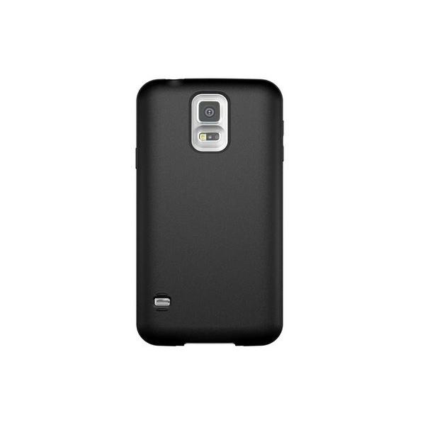 Galaxy S5 SM-G900F : Coque de silicone gel noir