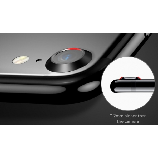 bague de protection lentille photo arri re iphone 7 baseus verre. Black Bedroom Furniture Sets. Home Design Ideas