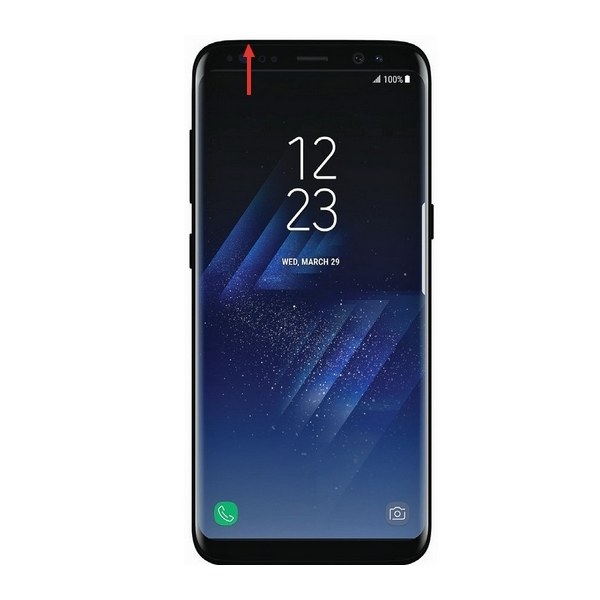Tiroir Sim Et Micro Sd Samsung Galaxy S8 G950f Et S8 G955f Noir