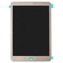 Galaxy Tab S2 9.7 (T810/T815) : Vitre écran complet or Gold 9.7 pouces