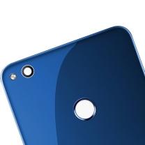 Cache batterie vitre arrière pour Huawei P8 Lite 2017 et Honor 8 Lite Bleue - Logo Honor - Officiel Huawei