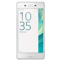 Sony Xpéria X (F5121) : vitre écran LCD Blanc
