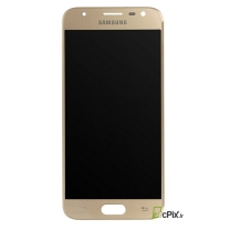Galaxy J3 2017 (SM-J330F) : Ecran Or Gold + vitre tactile Officiel Samsung