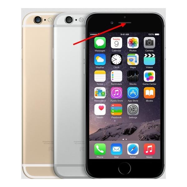 ecouteur haut pour iphone 6 apple fournisseur de pi ces d tach es pour iphone 6. Black Bedroom Furniture Sets. Home Design Ideas