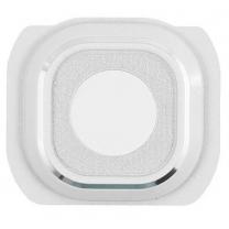 Galaxy S6 SM-G920F : Support blanc pour lentille appareil photo arrière