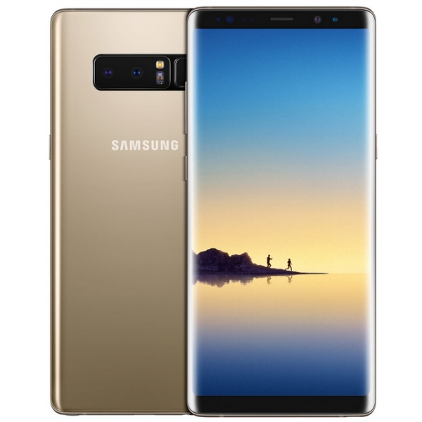 Galaxy Note8 (SM-N950F) : Ecran Or + vitre tactile. Officiel Samsung