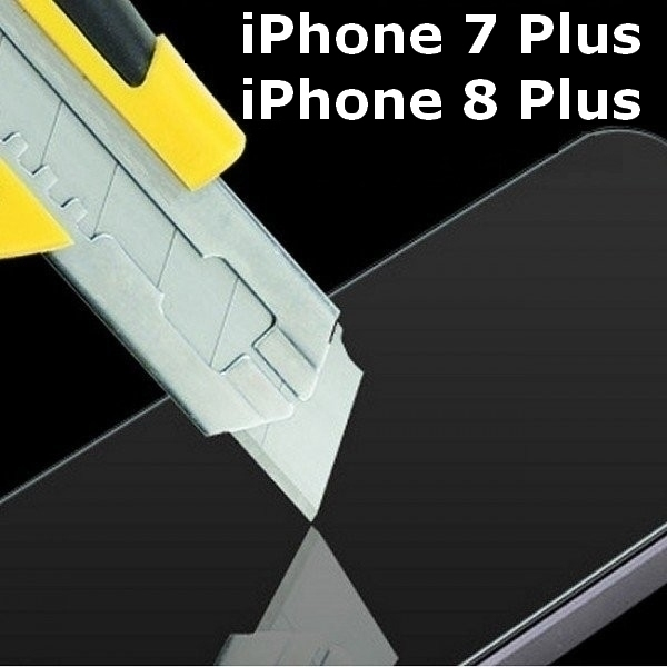 verre tremp iphone 7 plus et 8 plus de protection d 39 cran contre casse. Black Bedroom Furniture Sets. Home Design Ideas