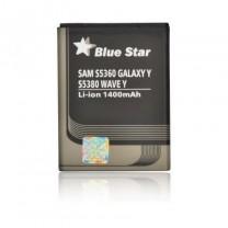 BATTERIE POUR SAMSUNG S5360 GALAXY Y/S5380 WAVE Y 1400 mAh Li-Ion BS PREMIUM
