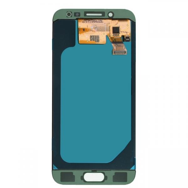 Officiel Samsung Vue Arriere Et De La Connectique Vitre Ecran Argent Bleu Tactile