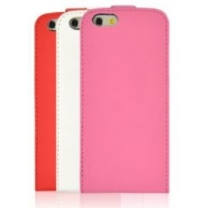 iPhone 5/5S Etui de protection simili cuir de couleur