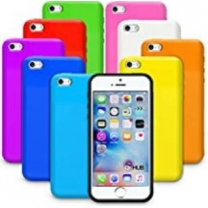 iPhone 5C : Coque de couleur en silicone TPU gel