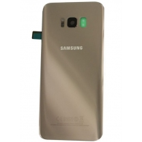 Coque vitre arrière Galaxy S8 Or Gold SM-G950F. Samsung GH82-13962F