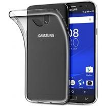 Galaxy J3 2017 (SM-J330F) : Coque transparente souple TPU silicone