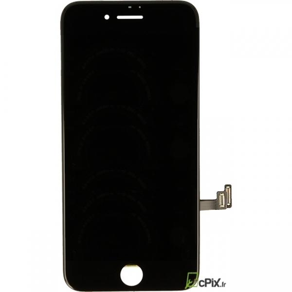 iPhone 8 Plus : Ecran Premum Noir LCD + vitre tactile assemblés